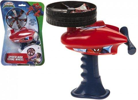 Marvel Spiderman Flying Wheel Spintop - Besto.dk