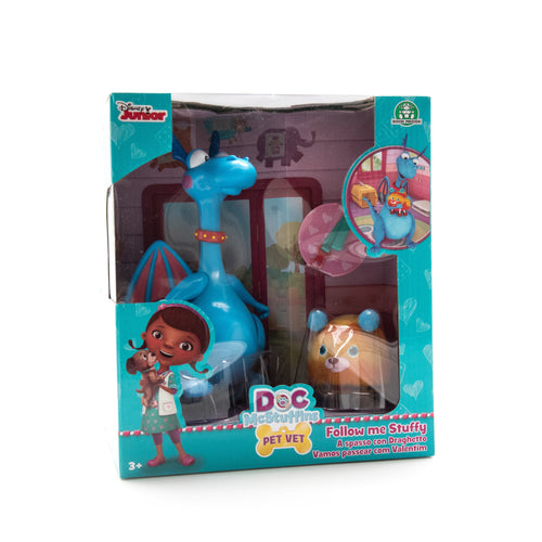 Doc Mcstuffins Pet Vet Follow me Stuffy - Besto.dk