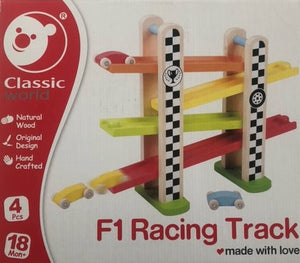 Classic world F1 racer track