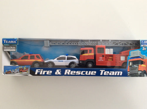 BRAND OG POLITI TEAM - FIRE AND RESCUE TEAM - Besto.dk