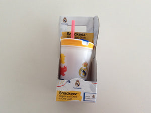 REAL MADRID SNACK AND DRINK CUP - Besto.dk