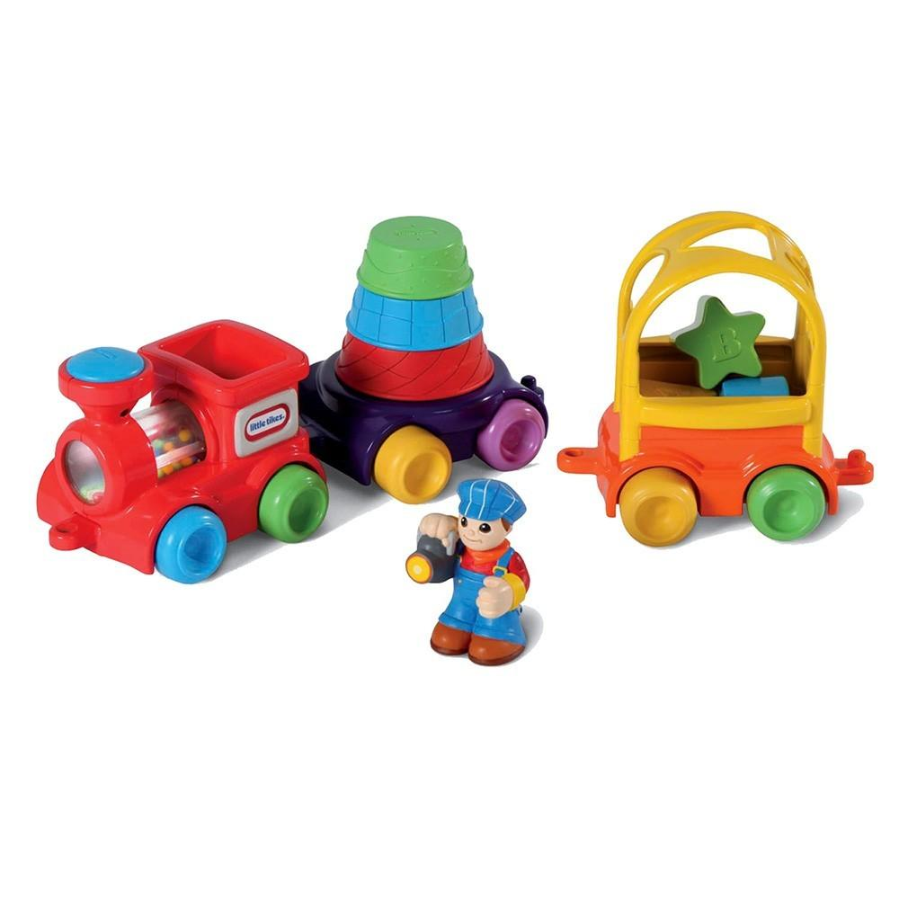 Little Tikes Discover Sounds Sort N' Stack Train