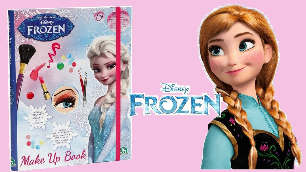 Disney Frozen Make Up Book - Frost Make-up bog - Besto.dk