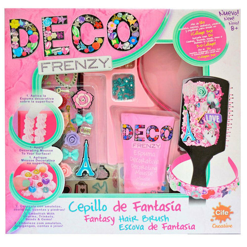 Deco Frenzy - Fantasy Hair Brush - Besto.dk
