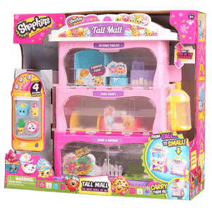 Shopkins S5 Tall mall Storage case - Besto.dk