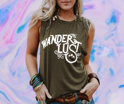 Wander lust tee - NO BRA CLUB