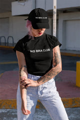 No Bra Club Official Crop Top - NO BRA CLUB