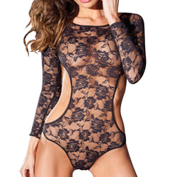 Sexy Lingerie Nightwear Sleepwear Body Pole Dancing Lingerie - no bra club