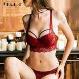 New Top Sexy Underwear Set Cotton Push-up Bra and Panty - NO BRA CLUB