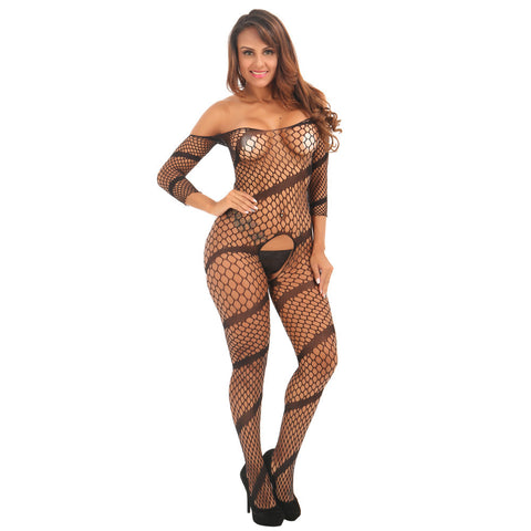 Perspective Slim Lingerie Stockings - no bra club