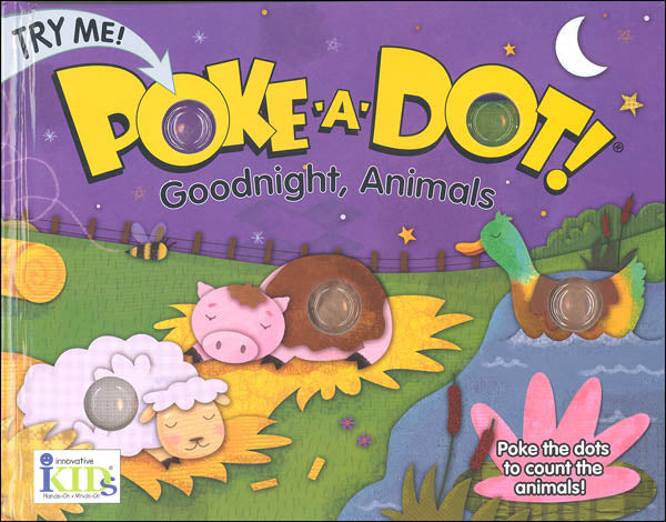 Poke-A-Dot Goodnight, Animals