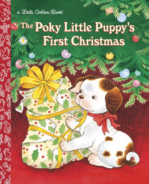 The Poky Little Puppy's First Christmas Little Golden Book