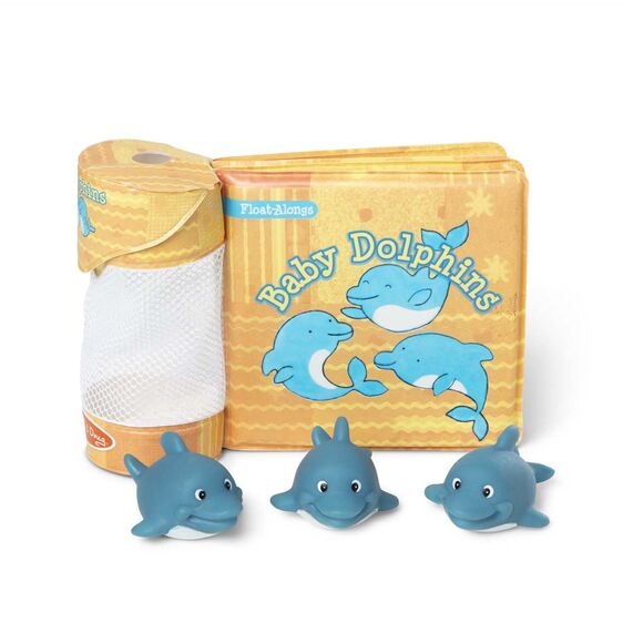 Baby Dolphins Bath Book & Toy