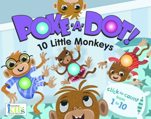 Poke-A-Dot-10 Little Monkeys