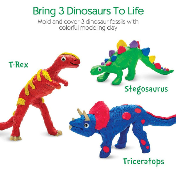 Create w/Clay Dinosaurs