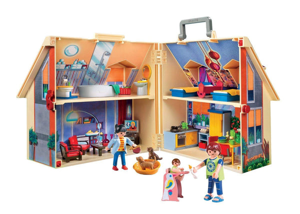 Take Along Modern Doll House