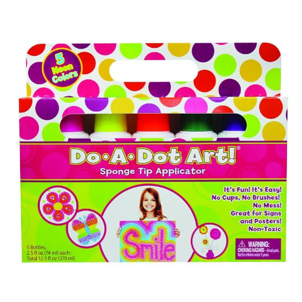 Do-A-Dot Art! Fluorescent Markers