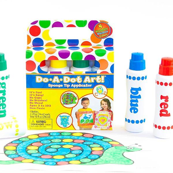 Do-A-Dot Art! Rainbow Markers