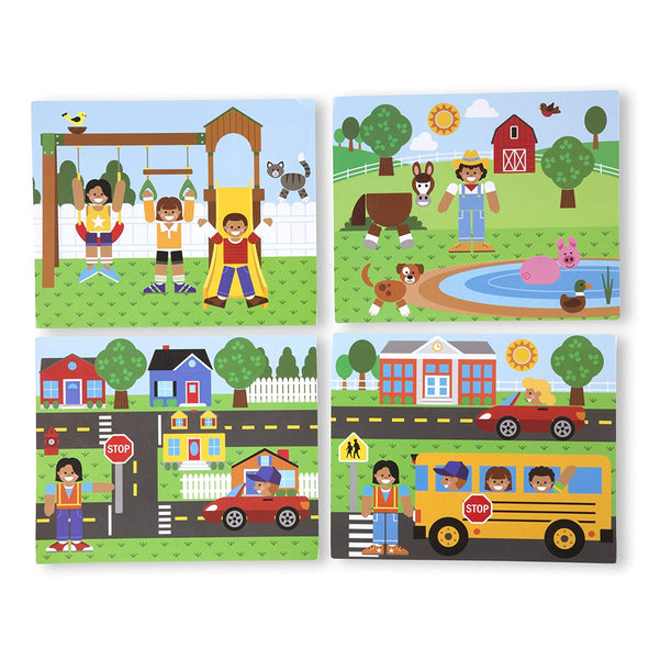 Magnetic Matching Picture Game