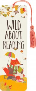 Wild About Reading Bookmark