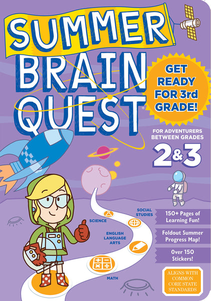 Brain Quest Workbooks Pre-K thru 6th grade, plus Summer Workbooks!