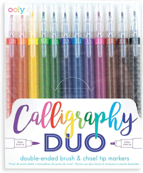Ooly Calligraphy Duo - Set of 12