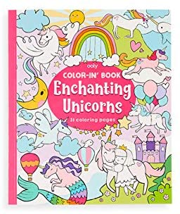 Ooly Color-In' Book Enchanting Unicorns
