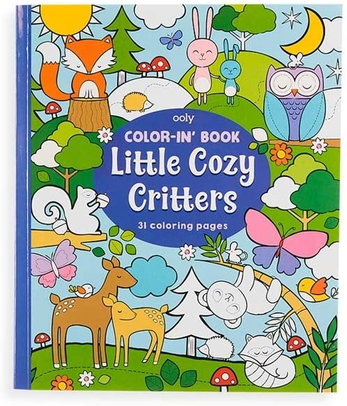 Ooly Color-In' Book Little Cozy Critters