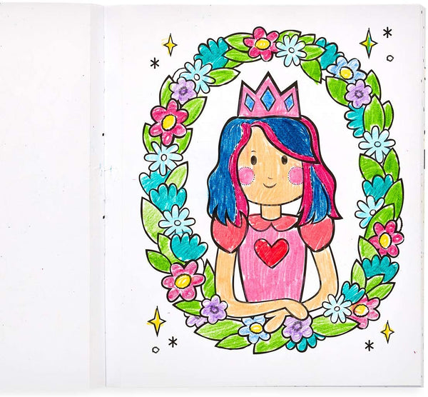 Ooly Color-In' Book Princesses & Fairies