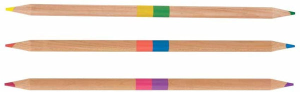 Ooly Two-of-a-Kind Double Ended Color Pencils - Set of 12/24