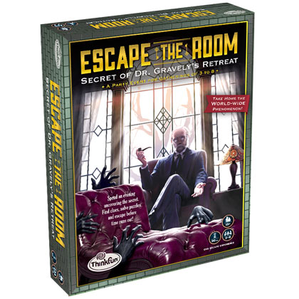 Escape the Room Dr. Gravely's Retreat