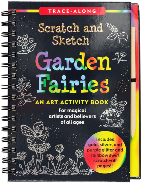 Scratch & Sketch Garden Fairies