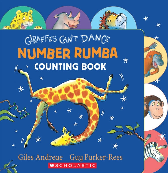 Giraffes Can't Dance Number Rumba Counting Book