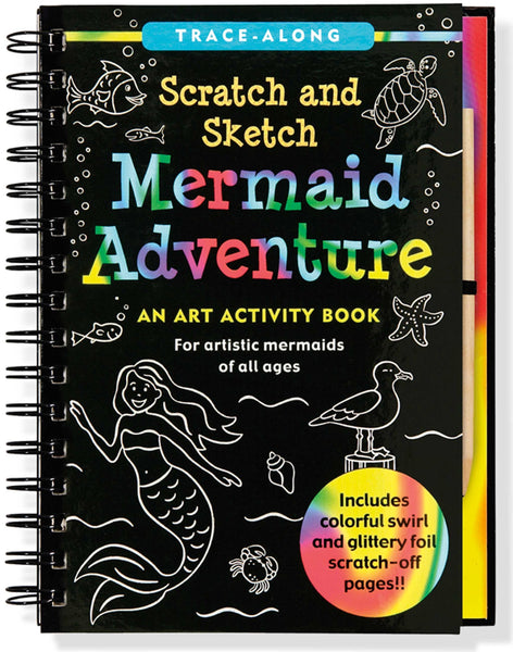 Scratch & Sketch Mermaid Adventure