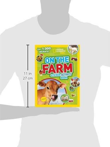 National Geographic Kids: On The Farm Sticker Activity Book