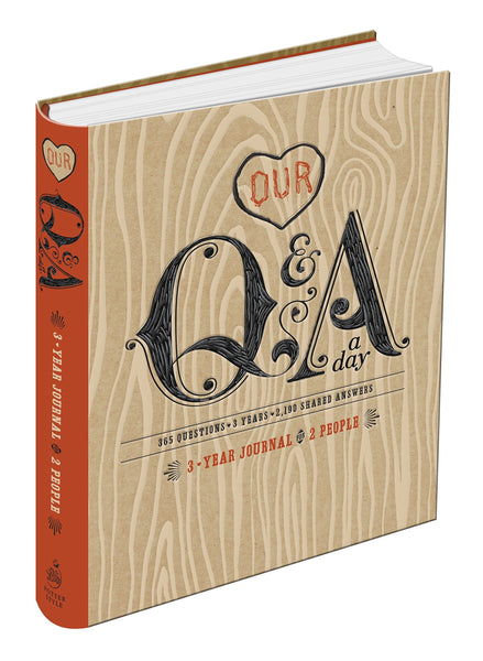 Our Q&A A Day 3-Year Journal for 2 People