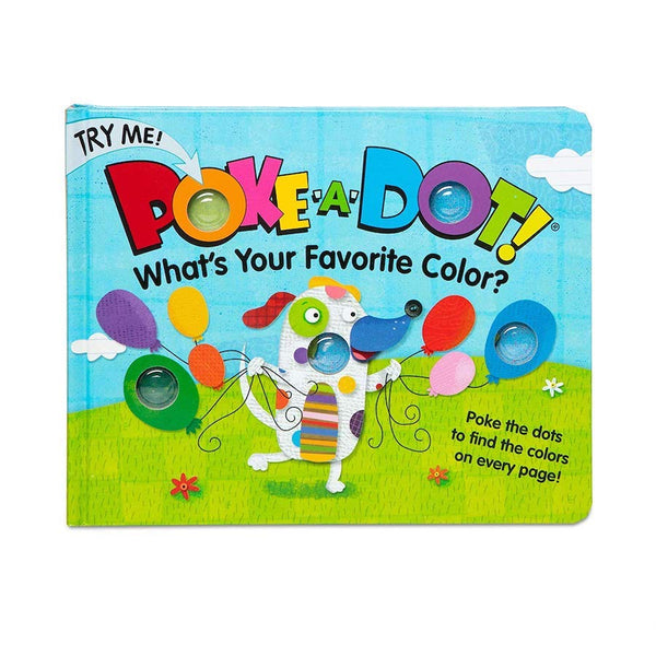 Poke-A-Dot What's Your Favorite Color?