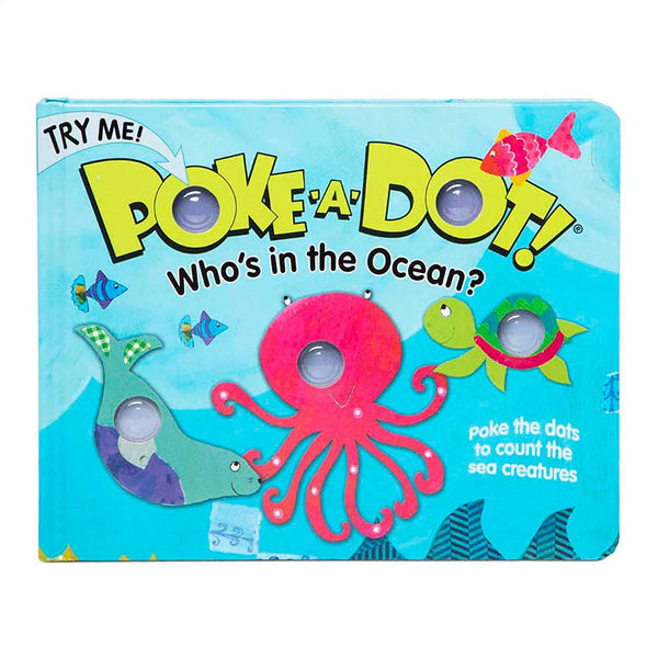 Poke-A-Dot Who's In the Ocean?