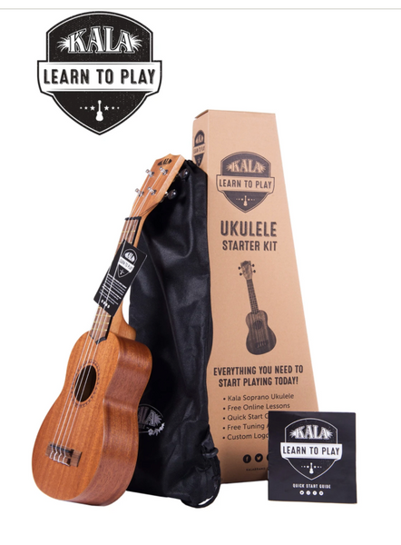Kala Learn To Play Soprano Ukulele Starker Kit
