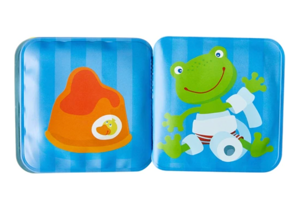 Mini Bath Book - Fritz The Frog