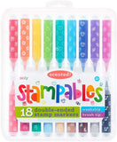 Ooly Scented Stampables Double-Ended Stamp Markers - Set of 18