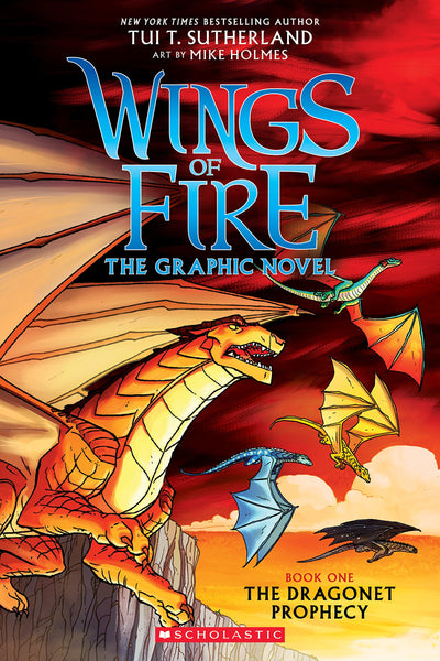 The Dragonet Prophecy (Wings of Fire Graphic Novel, Book 1)