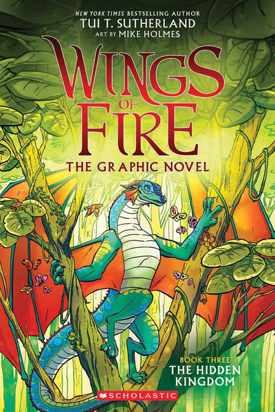 The Hidden Kingdom (Wings of Fire Graphic Novel, Book 3)