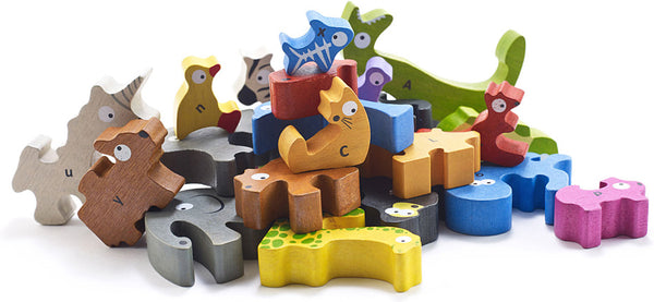 A to Z Animal Puzzles