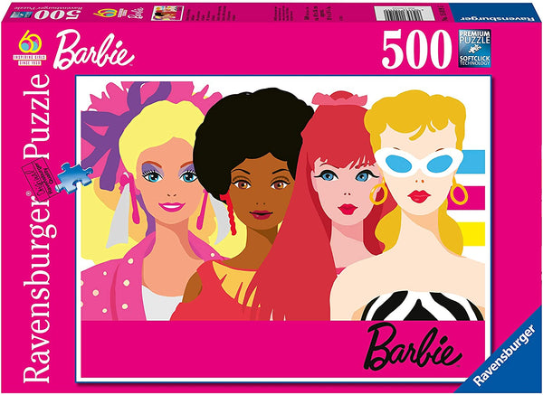 Barbie 60th Anniversary 500 Piece Puzzle