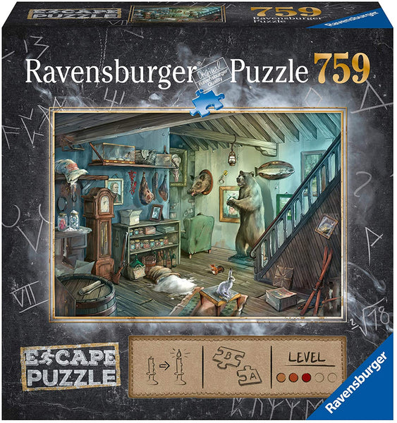 The Forbidden Basement 759 Piece Puzzle