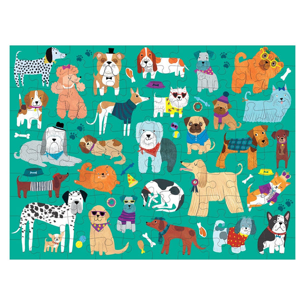 Mudpuppy Cats & Dogs Double Sided Puzzle