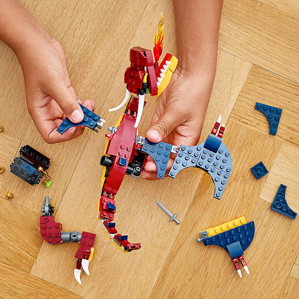 LEGO Fire Dragon