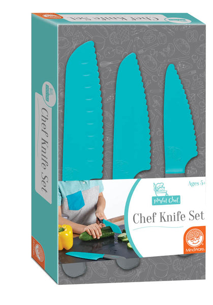 Playful Chef: 3 Piece Safety Knife Set
