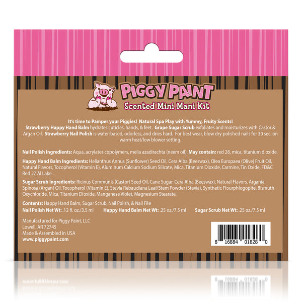 Piggy Paint Scented Mini Mani Kit